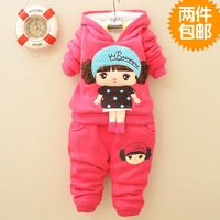 In the winter of 2014 male and female baby autumn and winter winter jacket