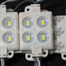 led module injection 5730 4leds IP65 DC12V 2W molding For advertising board Blister luminous words + 20 pcs+ Free shipping(China (Mainland))