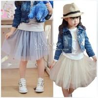 Big Sale 2014 fashion summer girls skirt ball gown princess fluffy pettiskirts baby tulle layered tutu short skirts Dance Wear