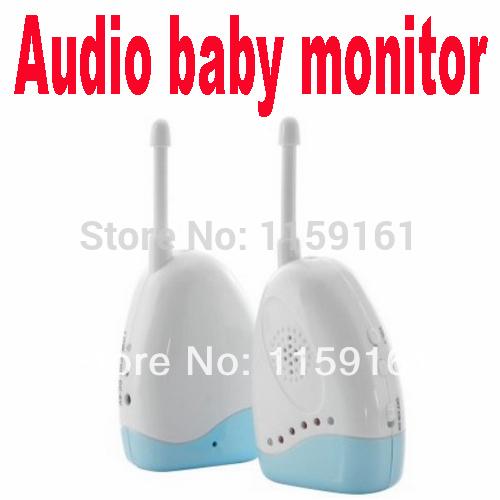 Free shipping 1pcs Audio Baby Monitor Temperature Bedwetting Alarm Wireless Intercom Portable model(China (Mainland))