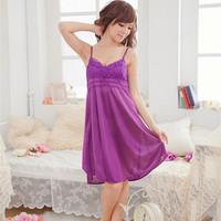 2013 summer women's sleepwear sexy temptation lounge viscose spaghetti strap skirt