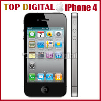Shopping Festival iPhone 4 Original Unlocked Apple iPhone 4 iOS 4 16GB/32GB 8MP Camera 3.5 inches WIFI GPS 3G Cell Phone