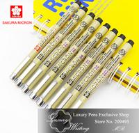 High Quality Sakura Micron Fine Line Pen, Cartoon Pen, Professional Drawing Pen, Hook Line Pen for Art, Sketch. 7pcs/ lot