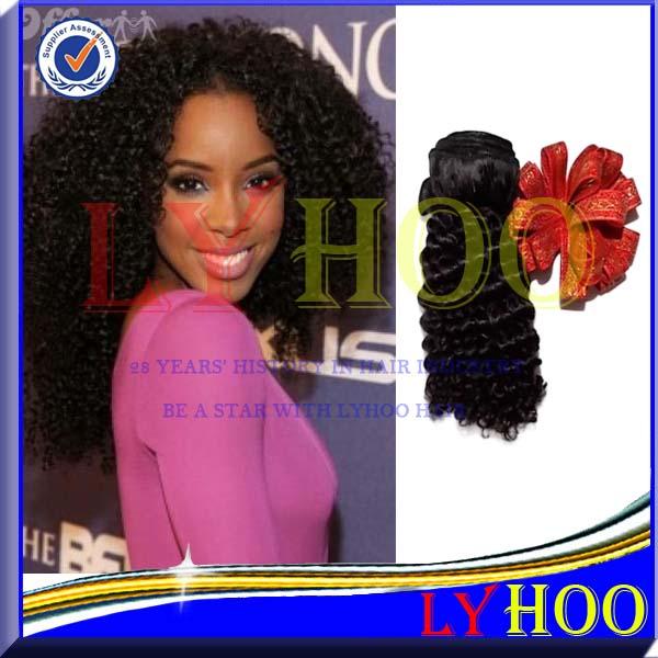 3PCS-6PCS Kinky Curly Indian Hair(China (Mainland))
