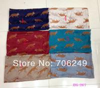 Free shipping,2014 new Spring scarf,  animal small fox  design,beach shawl,ladies printed shawl,muslim hijab,big size shawl