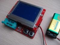 New 12864 LCD Transistor Tester Capacitance ESR Meter Diode Triode MOS NPN LCR
