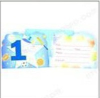 The child's birthday party Invitation party decorations Card wholesale  ck003