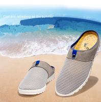 2014 men's sandals breathable mesh sandals high quality leisure shoes men walking shoes