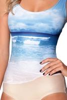 RESUN KNITTING one piece swimming swimwear bathing suits for women 2014 Beach Swimsuit Best quality
