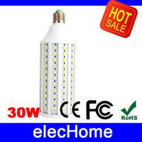 30W E27 LED Bulb 165 leds SMD 5050 LED Light  Bulbs AC 220V 230V 240V LED Corn Lamp Lights Lighting 4000lm Free Shipping