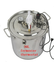 30L stainless steel fermenters thermostat fermenter liquor fermented wine fermented beer fermenters