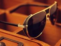 Unisex retro fashion sunglasses metal sunglasses Iron Man 2172