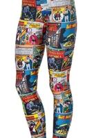 RESUN KNITTING 2014 digital print fashion digital cube of Digital boxes Batman movie the sexy legging Drop Shipping