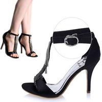 Girl Tassel Sandals Thin Heel Summer Shoes Sexy Sandals