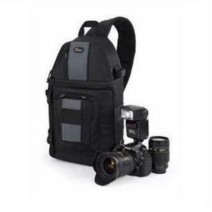 Genuine Lowepro SlingShot 202 AW DSLR Camera Photo Laptop Bag Backpack Rucksack for Canon Nikon Waterproof + Weather Cover Black(China (Mainland))