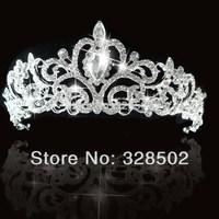 2014 New Fashion Tiara and Crown princess crown For Wedding bride quinceanera tiaras bridal headpiece free shipping CY-010