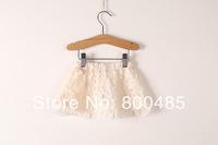 2014 summer new items Girls  waist  lace skirt