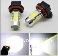 Free shipping wholesale H11 H8 HB4 9006 7.5W Car LED Fog Lamp Automobile Light Bulbs Wedge High power car lights 2pcs/lot
