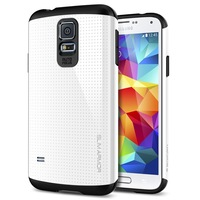 Gold SLIM ARMOR SPIGEN SGP Case For Samsung Galaxy s5 i9600 Hard Back Cover Classic TPU Plastic Cases