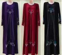 Free Shipping Ram41 Muslim Abaya/Jilbab With  Diamond  , Islamic Arabia Dubai long Dress For Women,Lady