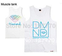 Free shipping wholesale pink dolphin Vest Multi Camo Vest Jumbo P hip hop Vest unisex Vest 100% cotton 21 color Diamond