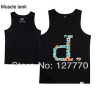 Diamond Wholesale Hip-hop o-neck Vest shirt mens Vest Pink dolphin T-shirt black White colour Diamond XXX