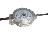 20pcs DC12 WS2811 pixel module with transparent cover;6pcs 5050 led inside;1.44W;40mm diameter