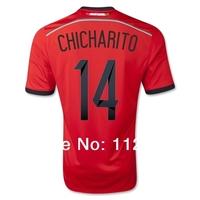 Mexico Chicharito Away Jersey 2014