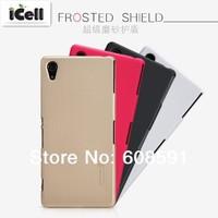 Original Nillkin Brand Super Shield Frosted Hard Case For Sony Xperia Z2 L50W L50 ,+Screen Film free shipping