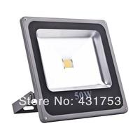 New ! Ultrathin 50W LED Flood Light IP65 Waterproof AC85-265V 5000LM Outdoor High Power Led Floodlight AC85~265V, Free shipping