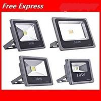 2014 NEW ! LED Flood Light Ultrathin 10W/20W/30W/50W Outdoor Lamp Lighting IP65 Waterproof AC85-265V Flood Lamp,Free Shipping