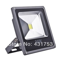 New!Ultrathin 30W LED Flood Light IP65 Waterproof AC85-265V 3000LM Power Outdoor Led Floodlight Cool/ Warm White, Free shipping