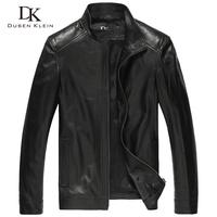 2014 brand men Jacket leather jackets Genunie sheepskin coats+design sheepskin jacket+ jacket 5XL plus size 4B0109 free shipping