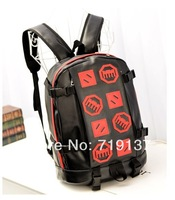 new 2014 PU personality backpack cartoon bags wholesale sports recreation backpacks free shipping