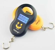 Hanging Scale 50Kg /5g Digital BackLight Fishing Pocket Weight Luggage Scales Kg Lb OZ