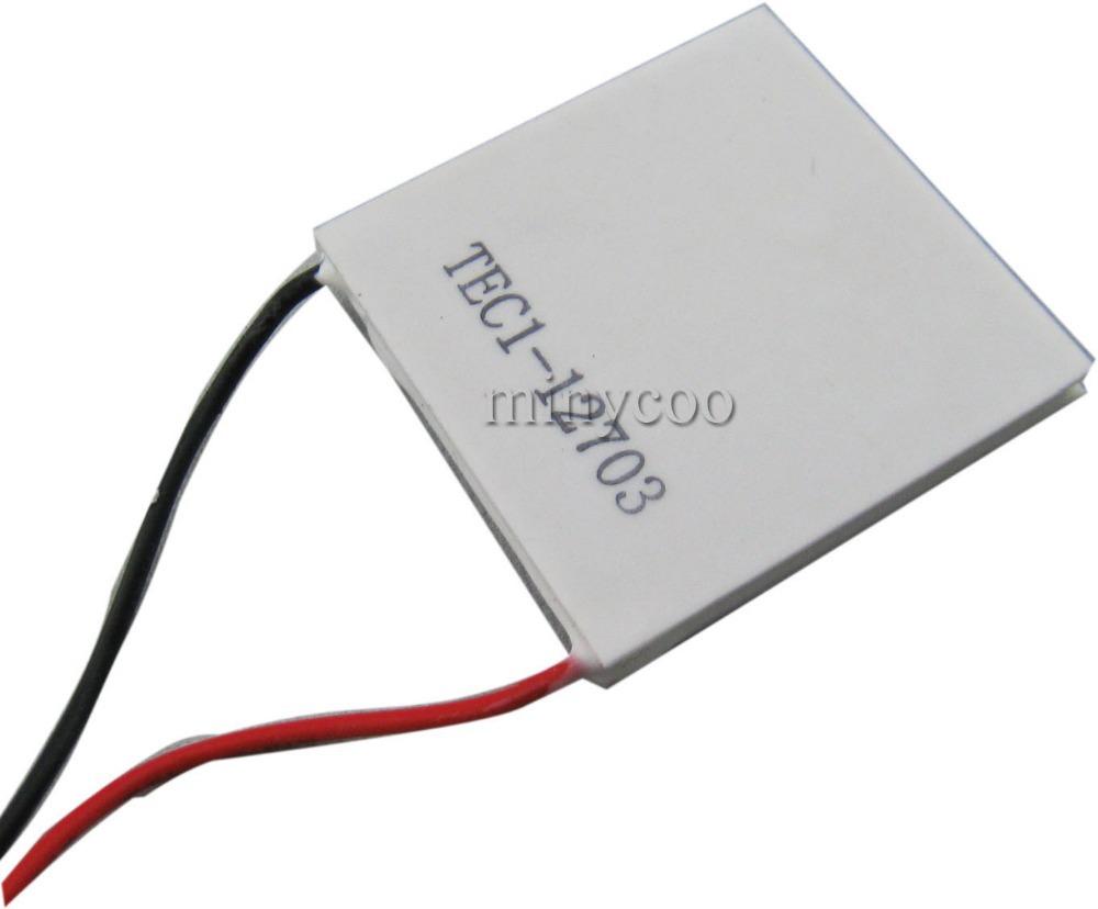 Placa de refrigeração TEC1-12703 TEC Thermo termoelétrica Peltier Cooler painel 40 X 40 mm(China (Mainland))