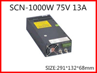 1000W 75V 13A  Single Output Switching power supply for LED Strip light  AC-DC SCN-1000-75