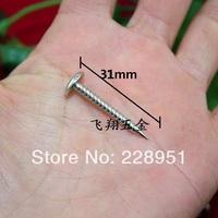 400 pieces a lot ,9*31mm cutting thread screw