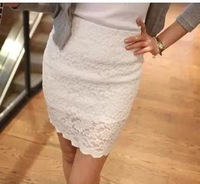Free Shipping! Spring and Summer Women High quality Cotton Lace Skirt ,Female OL sexy Slim Fashion Skirts S M L XL XXL XXXL-6XL