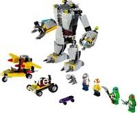 Bela Teenage Mutant Ninja Turtles Baxter Robot Rampage Building Blocks Sets Educational Bricks Toys For Children Original Box