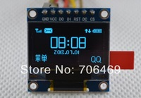 Wholesale 5pcs/lot 0.96 inch SSD1306 128x64 Pixel OLED Display Module blue color
