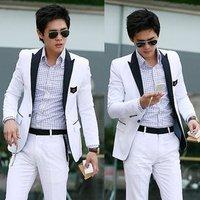 FREE SHIPPING,New Stylish Men's Blazer Casual Slim fit One Button Pop Suit Blazer Coat Jacket 2456