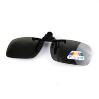 Car Myopia Polarizer Clip Unisex Goggles Night Vision Goggles Sunglasses Polarizer Jasper