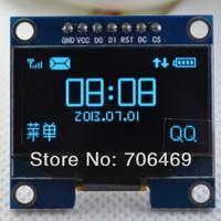 Wholesale 5pcs/lot 1.3 inch 132x64 Pixel OLED Display Module blue color