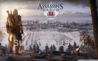 "001 Assassins Creed 3 III - Killer Hot TV Game  38""x24"" Poster"