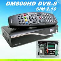 Satellite Receiver dm 800 hd pro dm800hd sim2.10 REV M Tuner tv receiver GP5.10 Installed BL84 dm800 hd 800hd pvr set top box
