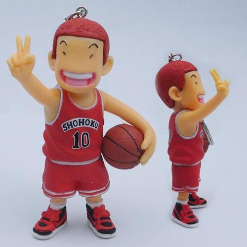 Sakuragi Hanamichi - Slam Dunk cartoon figure toy/model Height: approx 6cm,2.4inch(China (Mainland))