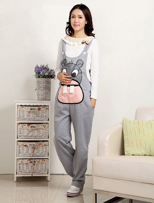 Model Maternity ClothesFashion Adult JumpsuitRomper For Pregnant Women