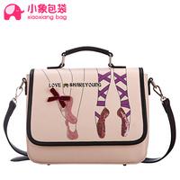 Free shipping Circleof bag 2014 spring and summer sweet ballet messenger bag shoulder bag fashion women's bags x1543