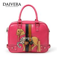 New arrival 2014 cartoon lovely department of colorant match fairy tale princess handbag cross-body women's handbag